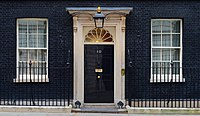 10 Downing Street, official residence of the Prime Minister