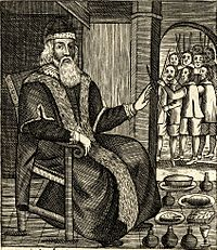 The Examination and Trial of Father Christmas (1686), published after Christmas was reinstated as a holy day in England