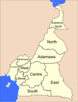 Cameroon is divided into 10 regions.