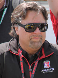 Andretti at the Indianapolis Motor Speedway in May 2015.