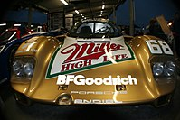 Michael and Mario's 1989 Porsche 962 driven in the 24 Hours of Daytona.