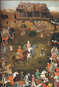 The Mughal Army under the command of Aurangzeb recaptures Orchha in October 1635.