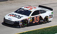 Wise competing in the 2013 STP Gas Booster 500