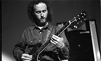 Robby Krieger at Roundhouse in London September 1968.