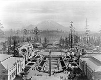 The Alaska-Yukon-Pacific Exposition had just over 3.7 million visitors during its 138-day run