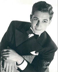 Como in 1939, when he was with the Ted Weems Orchestra.