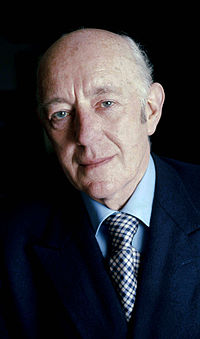 Alec Guinness, shown here in 1973, received multiple award nominations, including one from the Academy, for his performance as Jedi Master Obi-Wan Kenobi. To date, he is the only actor to receive an Academy Award nomination for a Star Wars film.