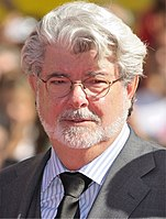 Filmmaker George Lucas received the directing (Academy Award, Directors Guild of America Award, Golden Globe Award and Saturn Award) and writing (Academy Award, Saturn Award and Writers Guild of America Award) nominations for Star Wars