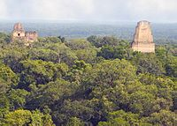 Tikal, Guatemala, which served as the setting of the Rebel base.