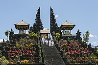 The Mother Temple of Besakih, one of Bali's most significant Balinese Hindu temples.