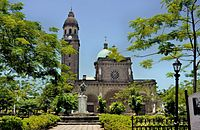 Roman Catholic Cathedral-Basilica of the Immaculate Conception, the metropolitan see of the Archbishop of Manila, Philippines.