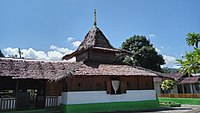 Wapauwe Old Mosque is the oldest surviving mosque in Indonesia, and the second oldest in Southeast Asia, built in 1414