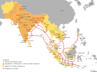 Spread of Hinduism from South Asia to Southeast Asia