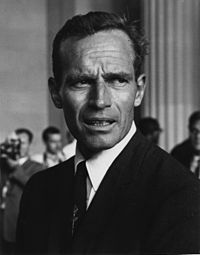 Heston at the March on Washington in 1963