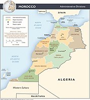 The administrative Regions of Morocco
