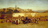 Tangier's population in 1873 included 40,000 Muslims, 31,000 Europeans and 15,000 Jews.