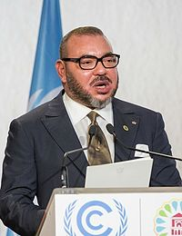 The King of Morocco, Mohammed VI.
