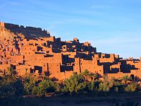 The Kasbah of Aït Benhaddou, built by the Berbers from the 14th century onwards.