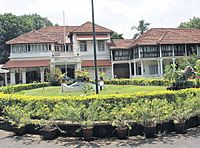 A 15,000 sq. ft building on 4.5 acres of land, Cliff House in Thiruvananthapuram is the official residence of the Chief Minister of Kerala.