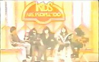Eric Carr being introduced as a Kiss member on Kids Are People Too!