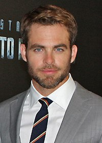 Pine at the Sydney premiere of Star Trek Into Darkness in 2013