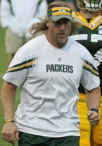 Greene with the Packers in 2011