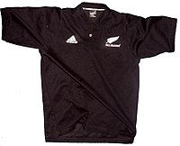 The All Blacks jersey caused controversy