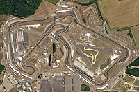 Satellite view of the circuit in 2018 (Planet Labs)