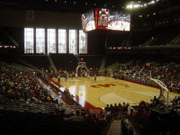 The Galen Center, home of USC basketball and volleyball