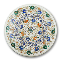 A marble table top in Pietra Dura, Agra