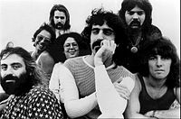 Zappa with the Mothers, 1971