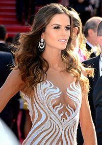 Goulart at the 2015 Cannes Film Festival