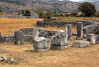 Ruins of the ancient city of Doclea