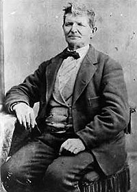 John D. Lee, date and photographer unknown. He established a permanent ferry across the Colorado.
