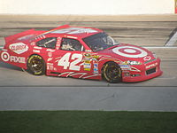 Montoya in the No. 42 at Texas Motor Speedway