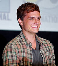 Hutcherson at 2013's San Diego Comic-Con International promoting The Hunger Games: Catching Fire