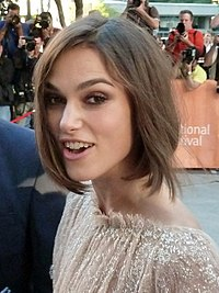 Knightley at the TIFF premiere of A Dangerous Method in September 2011