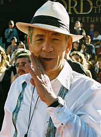 McKellen at the premiere of The Return of the King in Wellington, New Zealand, 1 December 2003