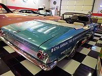 """The Chrysler 300 pace setter used in 1963 in the 47th anniversary of the """"Indianapolis 500"""""""