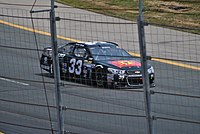White racing in his Cup debut at New Hampshire Motor Speedway in 2015