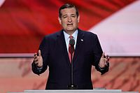 Cruz at the 2016 Republican National Convention, July 20, 2016