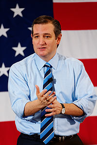 Ted Cruz in Nashua, New Hampshire, on April 17, 2015