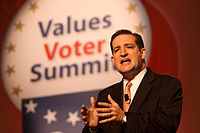 Cruz at the Values Voters Summit in October 2011
