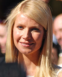 Paltrow at a ceremony for receiving her Hollywood Walk of Fame star on December 13, 2010