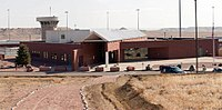 Florence ADMAX USP, the supermax security prison where Nichols resides.