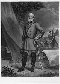General Robert E. Lee, commander of the Army of Northern Virginia