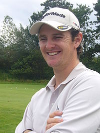 Rose at the 2008 KLM Open