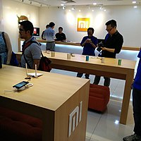 A Xiaomi Exclusive Service Centre for customer support in Kuala Lumpur.