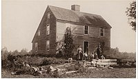 Brown's birthplace, Torrington, Connecticut, photographed in 1896