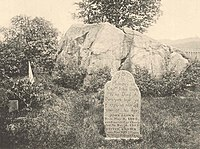 Brown's grave